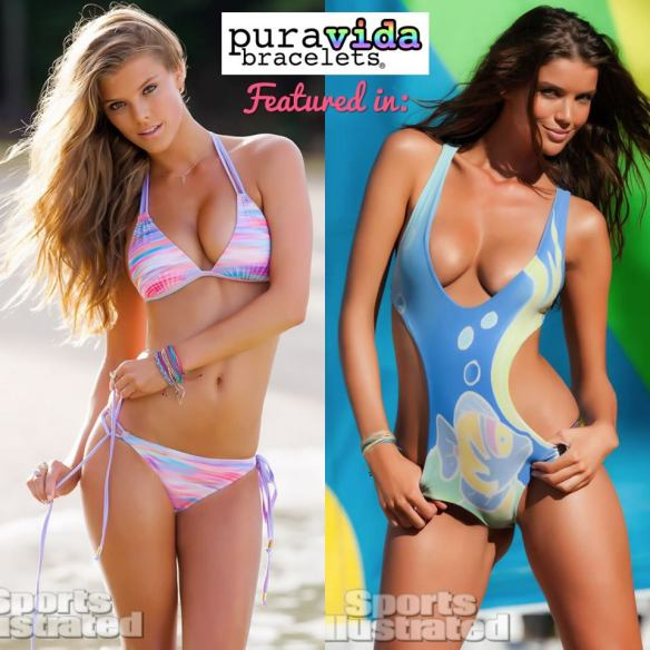 pura vida bracelets in Sports Illustrated Swimsuit Edition