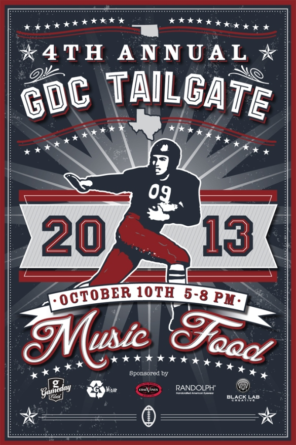GDC Tailgate Poster 24x36